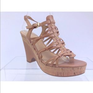 IVANKA TRUMP Leather Platform/Wedges Size 9.5